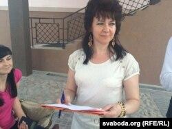 Ірына Давідовіч, кандыдат у дэпутаты ад АГП