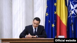 Romania - The new Prime Minister of Romania, Victor Ponta, signed an oath, 07May2012