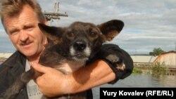 Николай Бережных спас от гибели множество животных