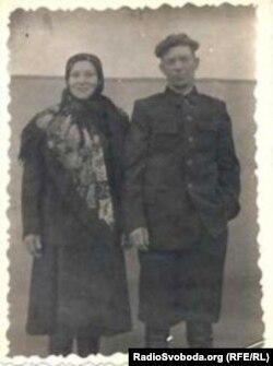 Маріка Шкорба з чоловіком Микитою