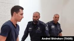 Алексей Бурков в суде, Иерусалим, ноябрь 2019 года