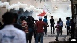 Акция протеста в связи с арестом Раджаба. 17 мая 2012 г.