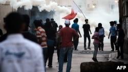 Архивска фотографија: Протести во Бахреин.