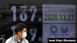 Токиодогу беткапчан киши. 23-март, 2020-жыл.