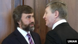 Вадим Новинский (слева) и Ринат Ахметов (архівне фото) снова будут представлять Донбасс