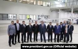 Українська делегація на виробництві компанії Baykar Makina