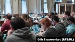 Під час антикорупційного навчання у Празі. 12 березня 2018 року.