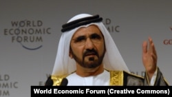 Kryeministri dhe ministri i mbrojtjes i Emirateve të Bashkuara Arabe, Sheikh Mohammed Bin Rashid Al Maktoum (Ilustrim)