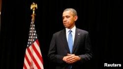АҚШ президент Барак Обама. 2 сәуір 2014 жыл.