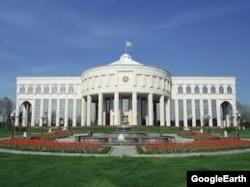 «Оксарой» – рабочая резиденция ныне покойного первого президента Узбекистана Ислама Каримова.