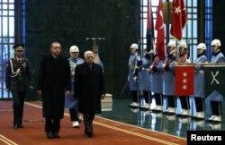Fələstin prezidenti Mahmoud Abbas Ankarada - 12 yanvar 2015
