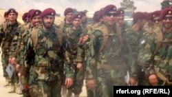 Ushtarët afganë