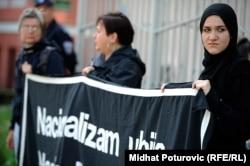Mirjana Mirosavljević Bobić: Braniteljke ljudskih prava iritiraju konzervativne i fašističke struje (Foto sa jednog od protesta Žena u crnom)