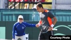 Қазақстандық теннисші Александр Недовесов Дэвис кубогы жарысында