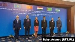 Участники встречи в Бишкеке.