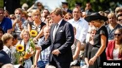 Golland şasy Willem-Aleksandr bilen şa zenany Maksima