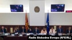 Седница на собраниската комисијата за европски прашања.