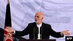 Избранный президент Афганистана Ашраф Гани. Кабул, 22 сентября 2014 года.