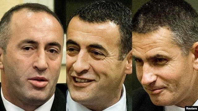 Ramush Haradinaj, Lahi Brahimaj i Idriz Balaj