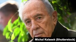 شیمون پرز رئیس جمهور سابق اسرائیل