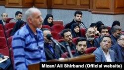 Mohammad Reza Salas məhkəmə dinləməsində