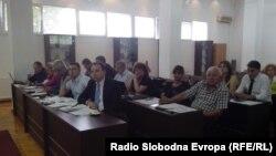 Седница на Советот на Општина Охрид.