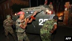 Архивска фотографија: Државен удар во мадагаскар во 2009 година.