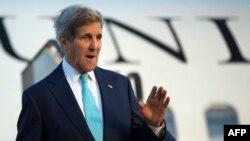 وزير الخارجية الاميركي جون كيري في شرم الشيخ، 13 آذار 2015
