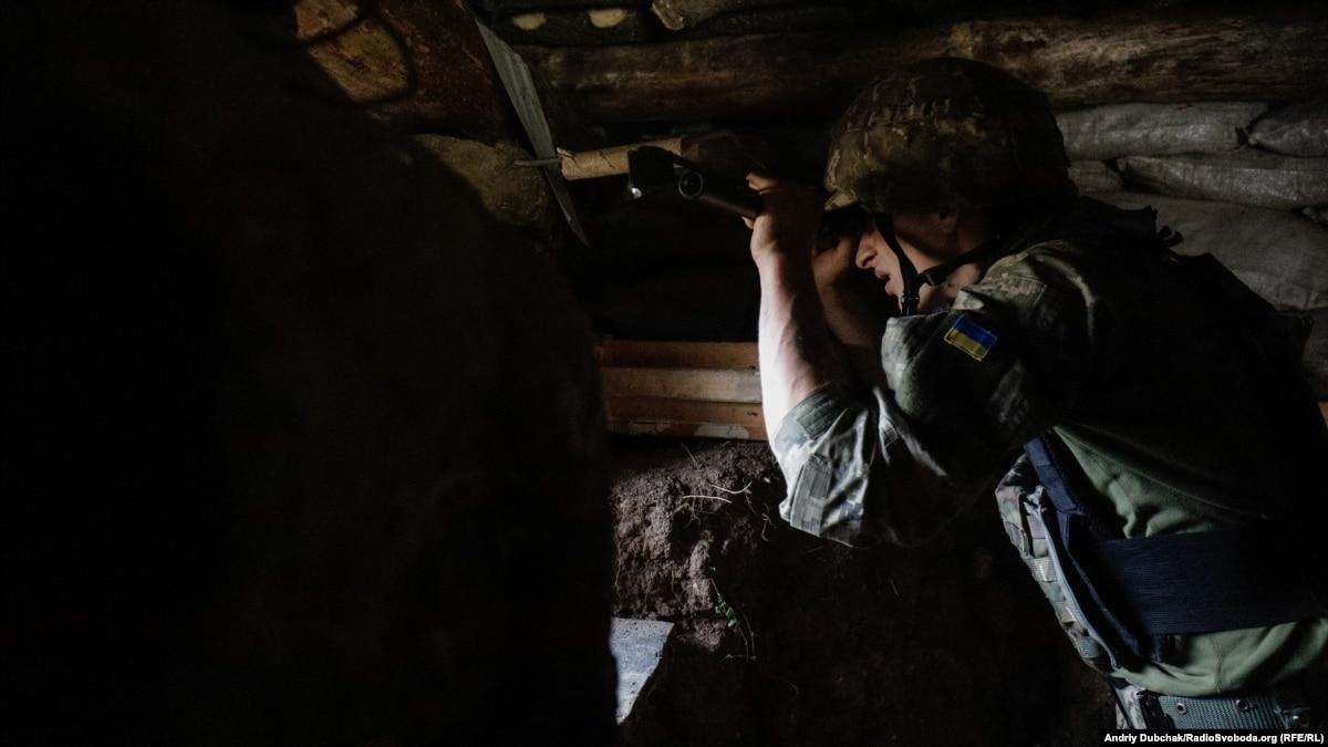 За минувшие сутки на Донбассе один военный погиб, трое пострадали – штаб