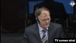 Čedo Šipovac u sudnici 11. studenog 2014.