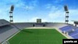 """Намангандаги янги """"Навбаҳор"""" стадиони халққа ўлпон солиниб, қурилганди."""