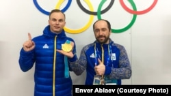 Александр Абраменко и Энвер Аблаев