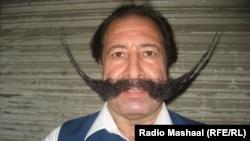 Amir Muhammad Afridi sports a 30-centimeter mustache.