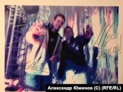 """Джон Шу с партнером в клубе """"Вавилон"""", архив Александра Юминова"""