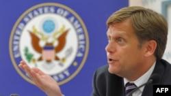 АҚШ-тың Ресейдегі жаңадан тағайындалған елшісі Майкл Макфол.