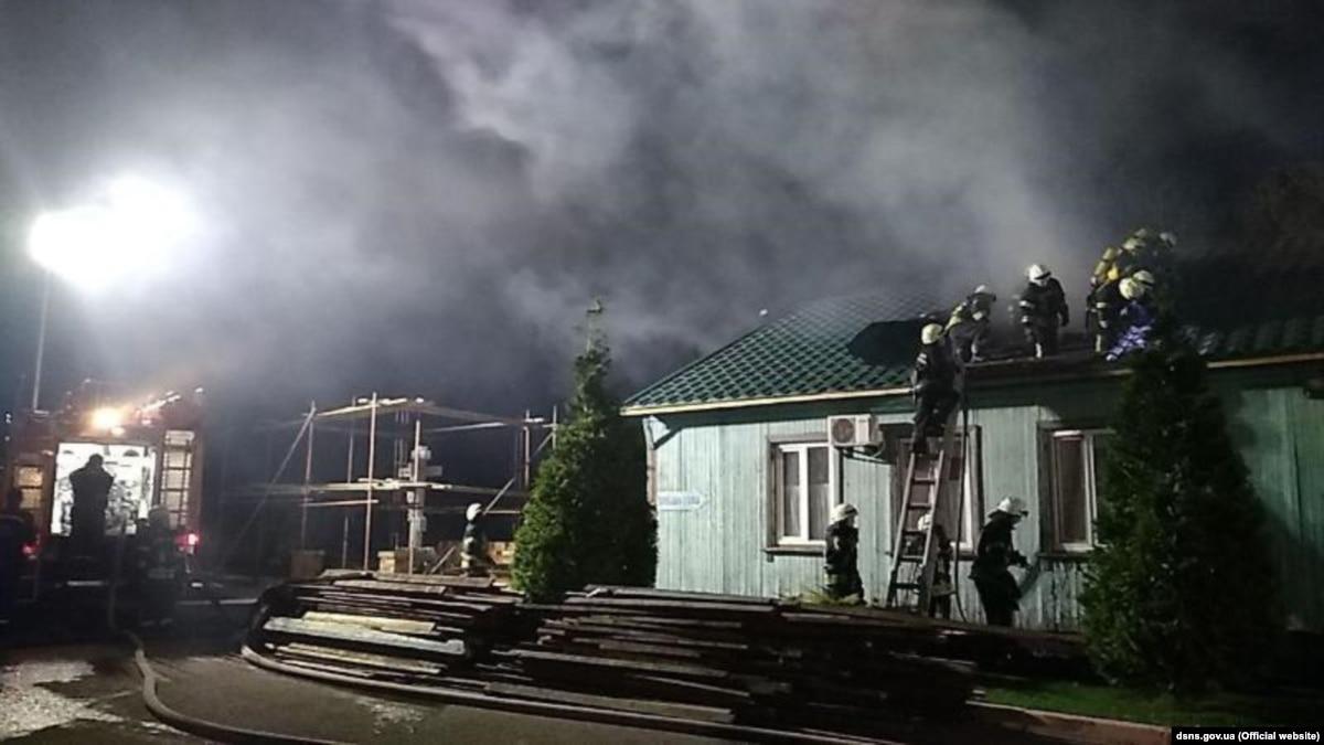 В Одессе произошел пожар в мужском монастыре