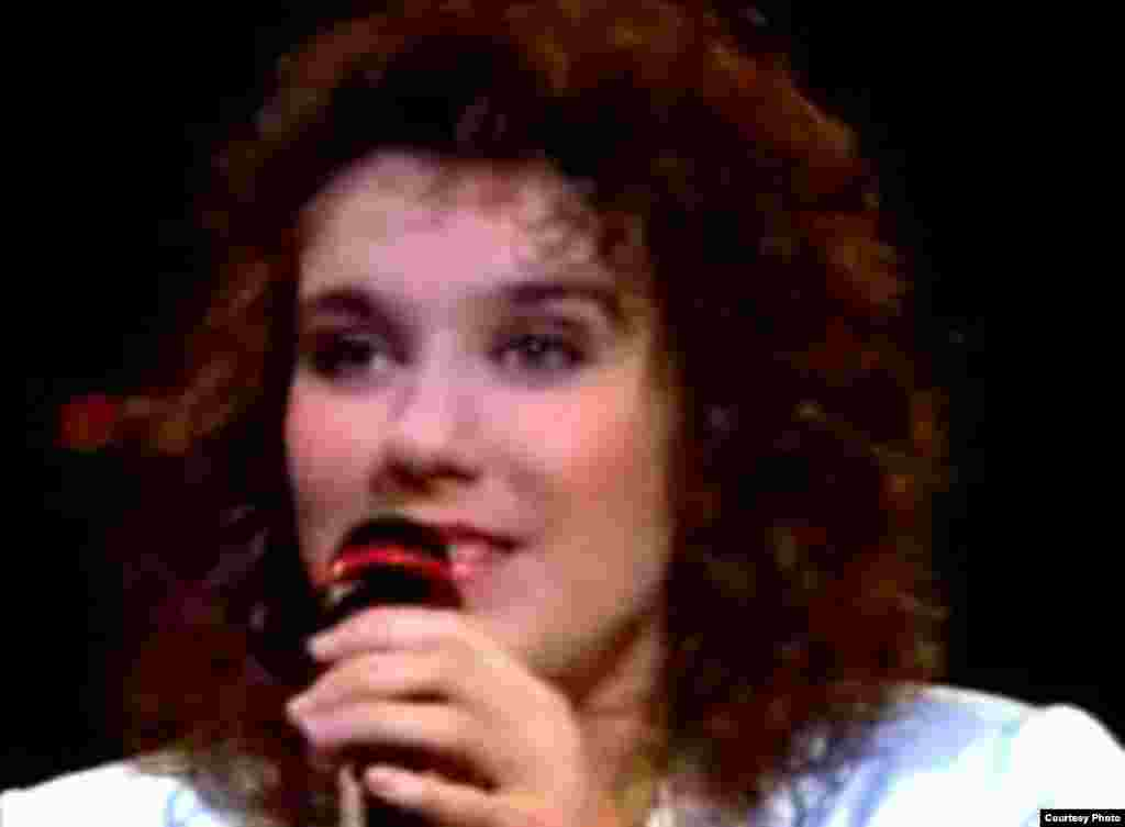 """Switzerland got its revenge two years later in 1988 when a little-knownCeline Dion won Eurovision for the mountainous country with """"Ne Partez Pas Sans Moi."""""""