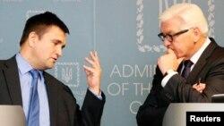 Павло Клімкін та міністр закордонних справ Німеччини Франк-Вальтер Штайнмаєр