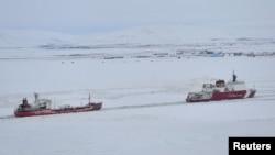 Pamje e një pjese të Arktikut