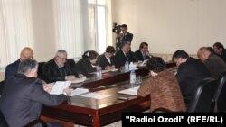 Нишасти Комиссияи марказии интихобот ва раъйпурсии Тоҷикистон.