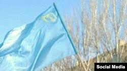Кримськотатарський прапор (ілюстративне фото)
