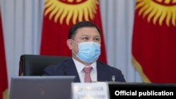 Торага Жогорку Кенеша Дастанбек Джумабеков.