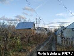 Дачный поселок в пригороде Уральска. 14 октября 2019 года.