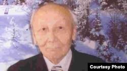 Казахский писатель Кажыгумар Шабданулы при жизни.