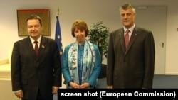 Pamje nga takimi i mëparshëm në Bruksel.