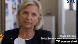 TeliaSonera ширкати бошқарув кенгаши раиси Мария Ирлинг.