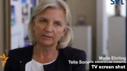 TeliaSonera shirkati boshqaruv kengashi raisi Mariya Irling.