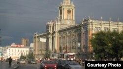 Екатеринбург шаарынан бир көрүнүш.