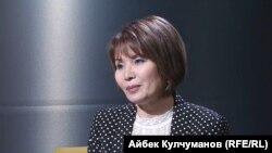 Айгуль Текебаева.