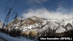 Перевал Тоо-Ашуу. 17 января 2013 года